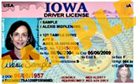 Not really my driver's license.