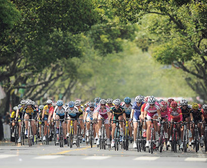 Shanghai cycling