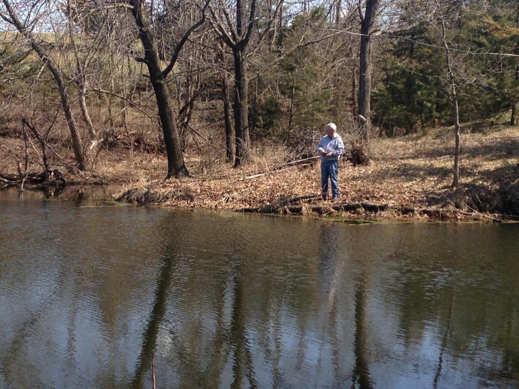Fishing with Alan Mancuso.