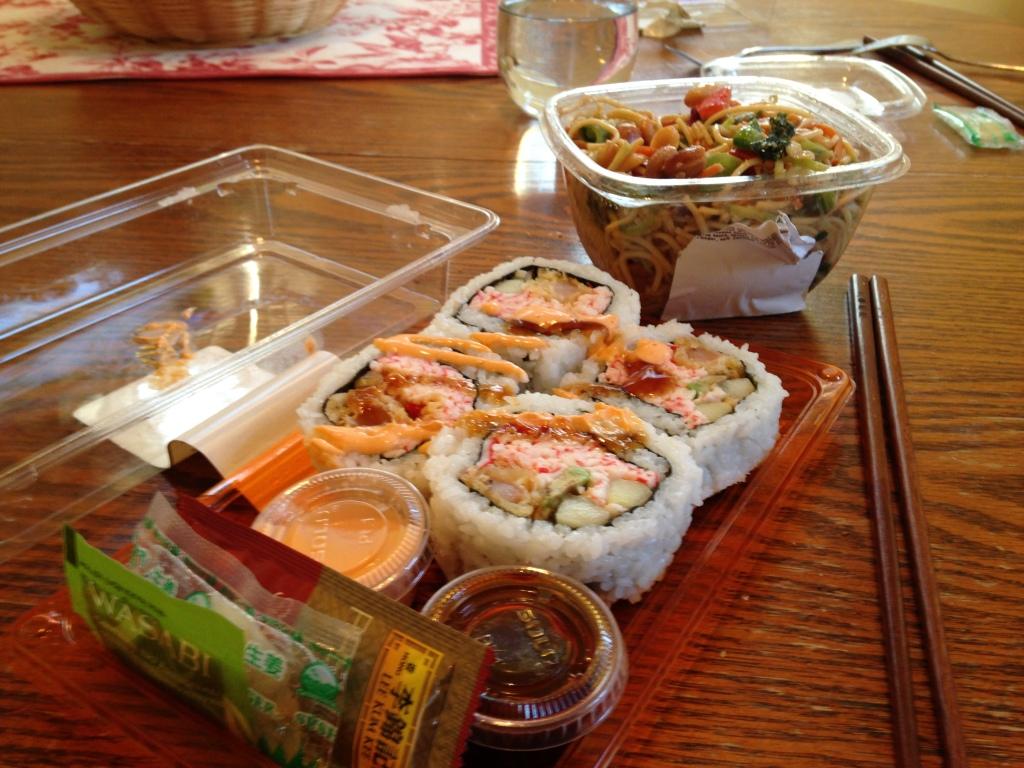 Hy-Vee sushi